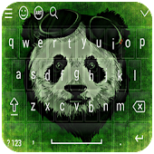 Panda Keyboard - Cute Panda