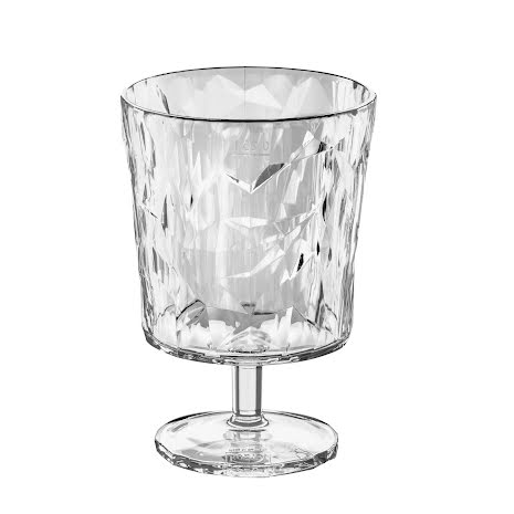 CLUB S, Goblet, Glas, Crystal Clear 8-pack