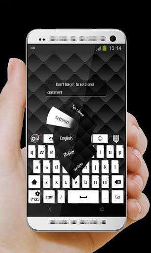 無料个人化Appのブラッククッション GO Keyboard|記事Game