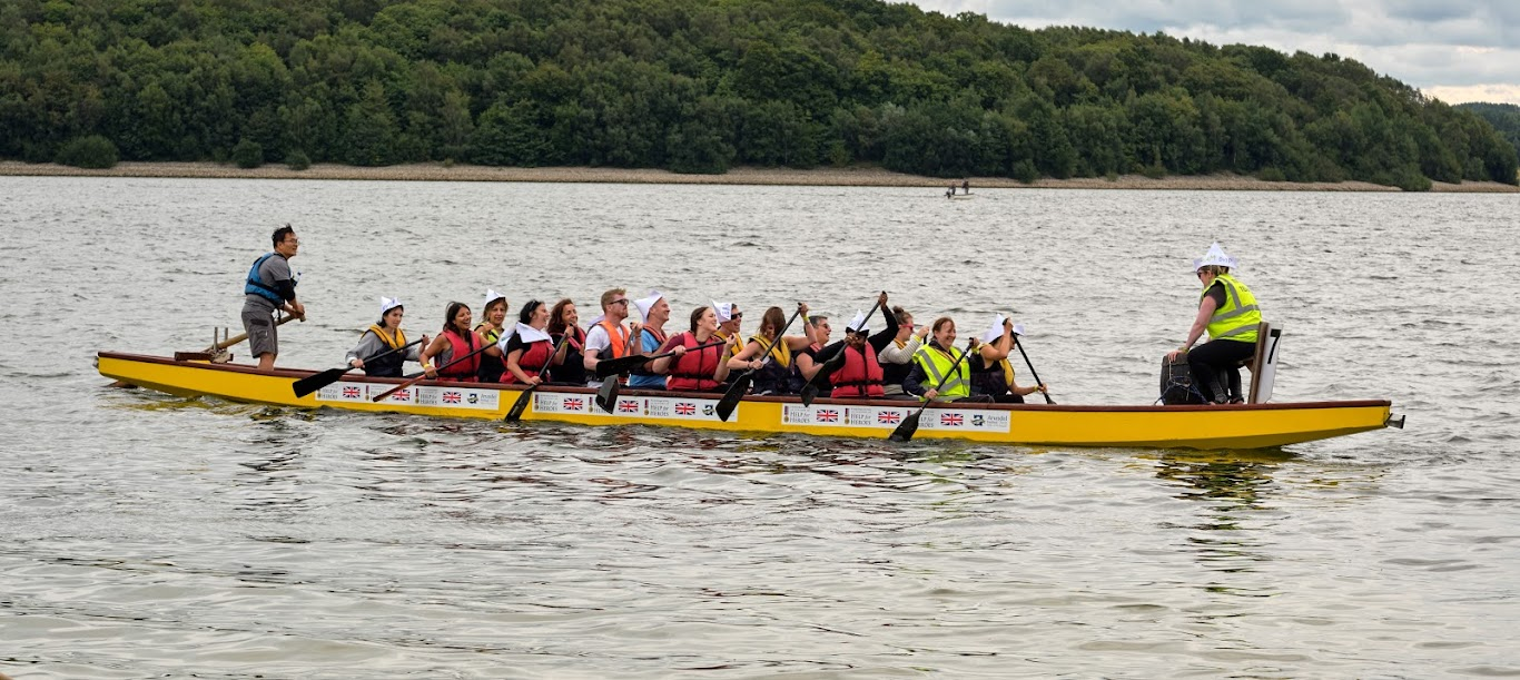 Team DVIP braves dragon boat race fundraiser to wipe out domestic violence