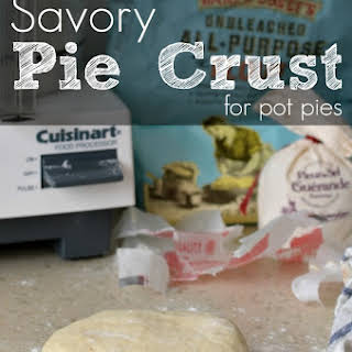 Savory Pie Crust for Pot Pies.