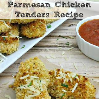 Crispy Baked Parmesan Chicken Tenders.
