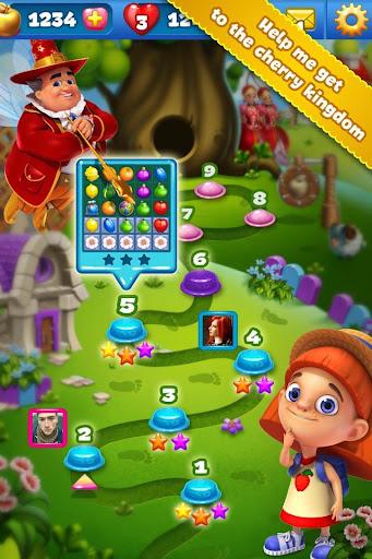 Fruit Land match 3 for VK apkdebit screenshots 2