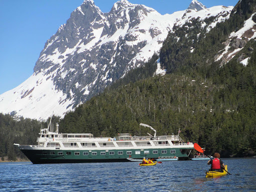 Explore Alaska and British Columbia by kayak on a Wilderness Adventurer sailing from UnCruise Adventures.