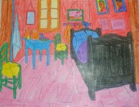 """Photo: Van Gogh """"La habitación de Arlés"""" Alumnado 5º"""