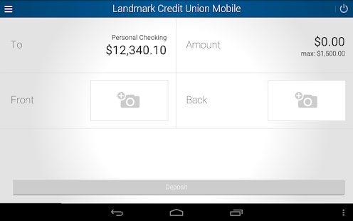 Landmark Credit Union Mobile- screenshot thumbnail