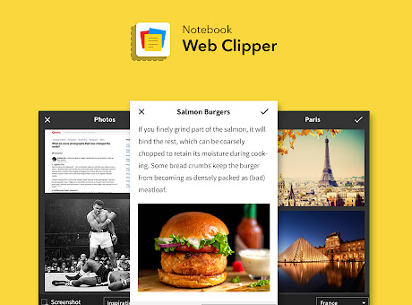 Notebook Web Clipper