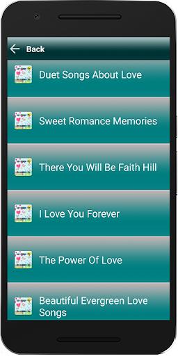 Love Songs MP3 Sweet Memories ss1