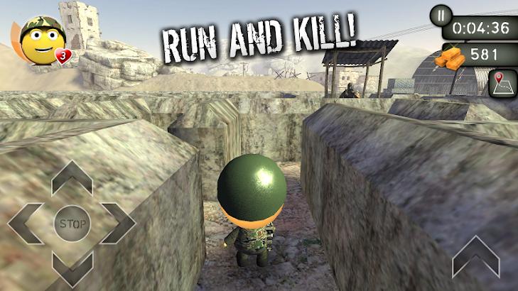 3D Maze: War of Gold ? screenshot