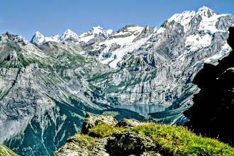 Photo: Bonderspitz Blick Eiger Mönch Jungfrau Öschinensee - Wanderungen Adelboden Berner Oberland: https://pagewizz.com/wandern-adelboden-region-berner-oberland/ (Aufrufe: 49295)