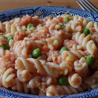 Suer-Quick Hummus Pasta