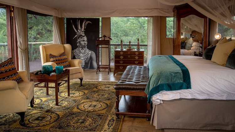 Tintswalo at Lapalala luxury tented suites.