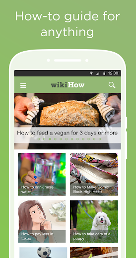 Screenshot 0 for wikiHow's Android app'