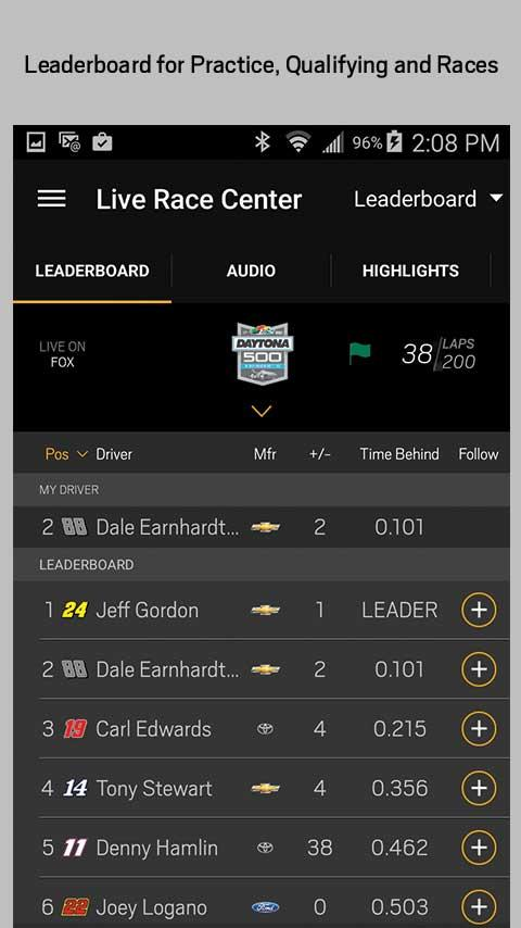 NASCAR MOBILE- screenshot