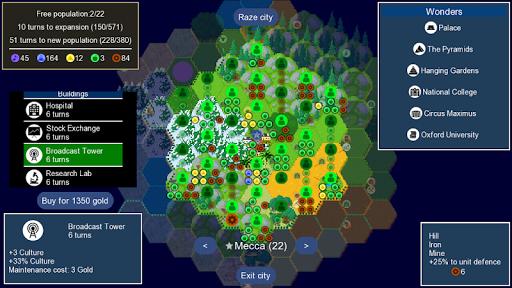 Capturas de pantalla de Unciv 3