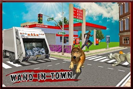 Crazy Wolf City Revenge screenshot