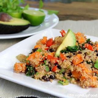 Black Bean & Yam Salad
