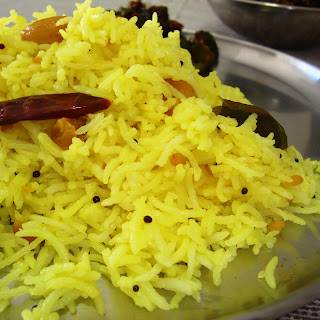 Lemon Rice Recipe – Indian Rice
