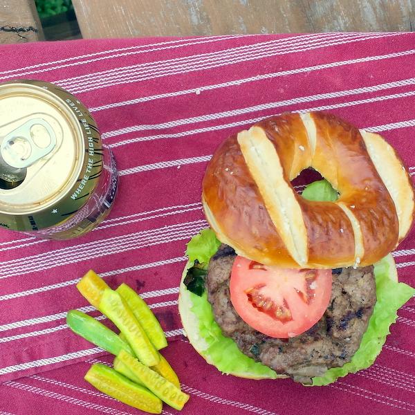 The Juiciest Leanest Beef Burgers Recipe
