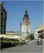 Photo: Torre del Ayuntamiento Viejo .Cracovia (Polonia) http://www.viajesenfamilia.it/CRACOVIA.htm