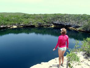 Photo: Hoffman Cay Blue Hole