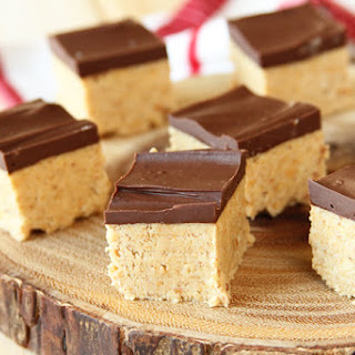 Peanut Butter Ball Bars