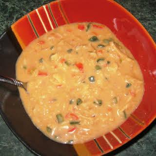 Southwestern Cream of Chicken Soup.