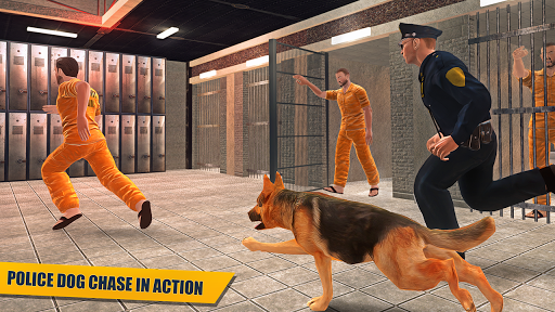 刑務所は警察犬Часеエスケープ