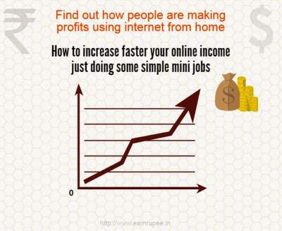 Earn Extra Online cash Internet Micro Mini Jobs and Surveys