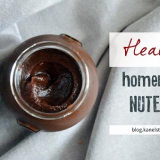 Healthy Homemade Nutella Recipe (Vegan) Hot.