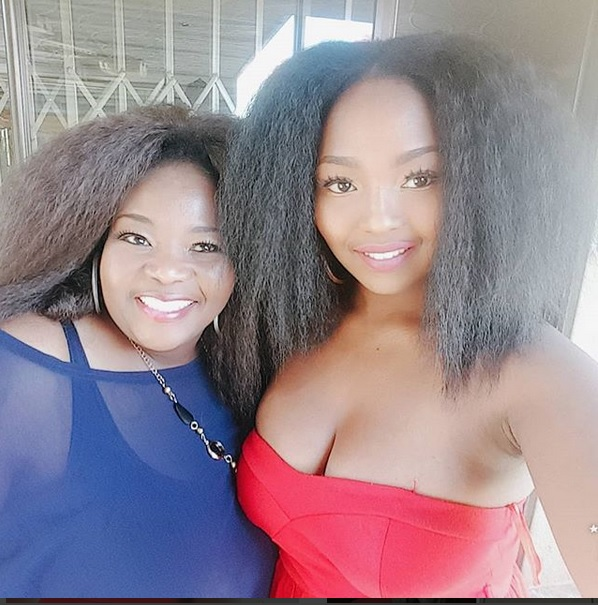 Winnie and Rethabile Khumalo.