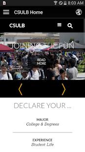 CSULB Mobile - náhled