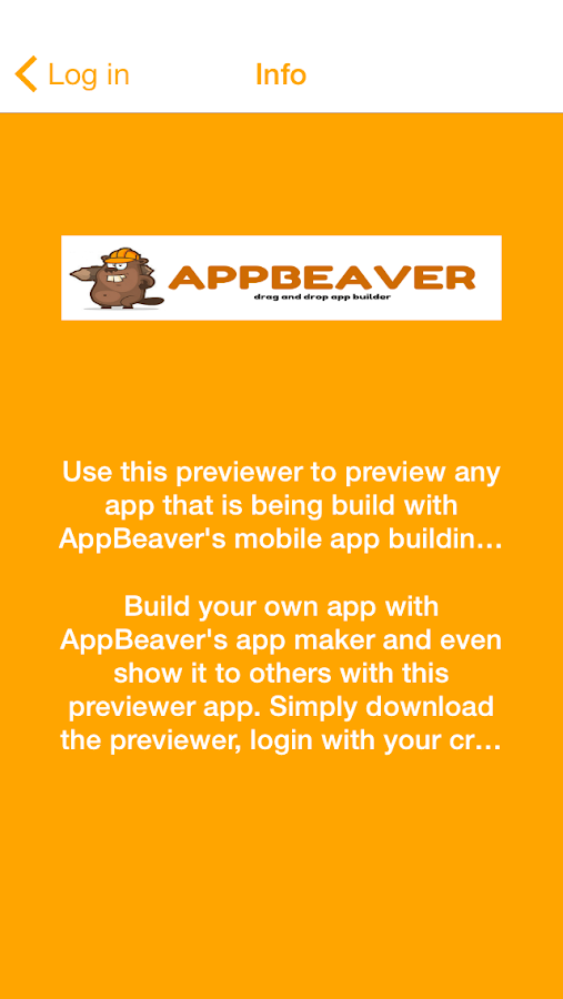 AppBeaver App Previewer- screenshot