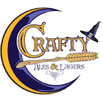 Logo for Crafty Ales & Lagers