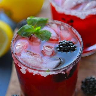 Blackberry Mint Lemonade.