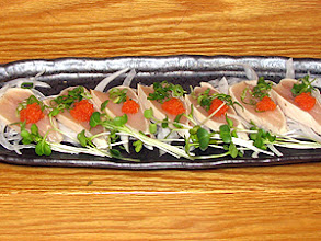 Photo: White Tuna Tataki