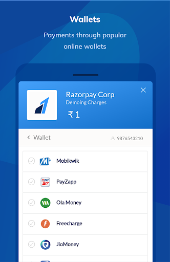 Razorpay Sample App app (apk) free download for Android/PC