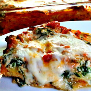 Turkey Vegetable Lasagna