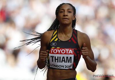 Début délicat pour Thiam sur l'heptathlon