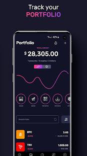 TronWallet: Bitcoin Blockchain Wallet