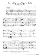 Photo: Himno a la Virgen del Camino-1ª