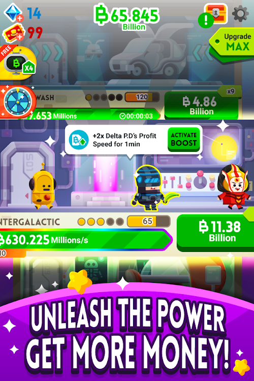 Screenshot 3 Cash, Inc. Money Clicker Game & Business Adventure 2.1.8.3.0 APK MOD