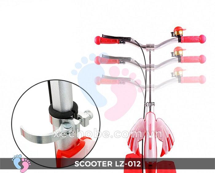 Xe trượt Scooter đạp chân LZ-012 có đèn, nhạc 11