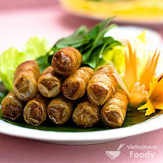 Vietnamese Style Deep Fried Spring Rolls (Cha Gio/Nem Ran)