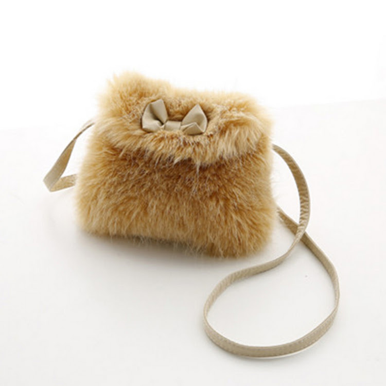 Fur-ociously Faux Fur Sling Bag by Stylo Kids Trading