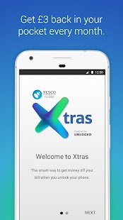 Tesco Mobile Xtras- screenshot thumbnail