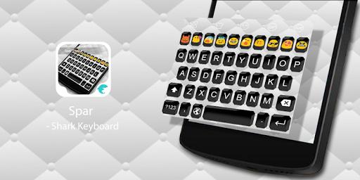 Emoji Keyboard-Black Spar