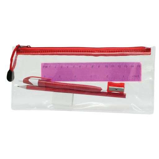 Transparent Pencil Case Sets