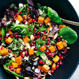 Pomegranate & Wild Rice Salad.