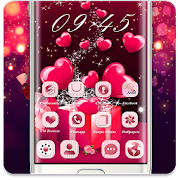 App Red Love Heart Gift Theme apk for kindle fire